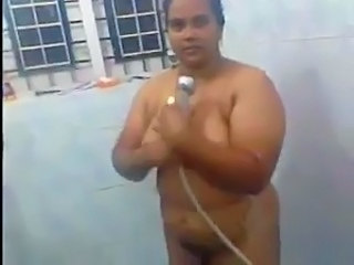 Indian MILF Showers
