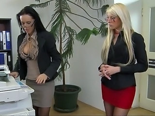 Skirt Secretary Office Cute Ass Milf Ass Milf Lesbian