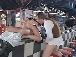 Riding Threesome Vintage Threesome Hardcore