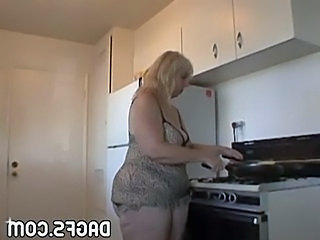 Pov Kitchen BBW
