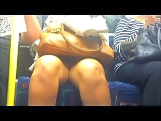 Public Transport Upskirt - Indian Lady