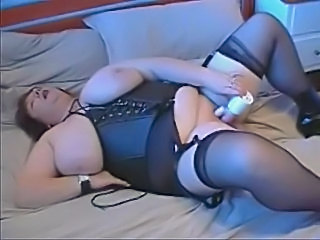BBW Mature Bbw Mature Corset Leather