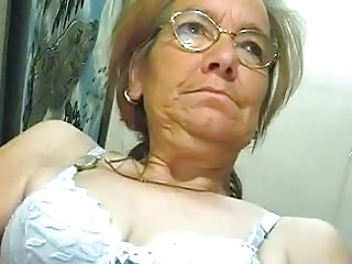 Glasses Lingerie Webcam Granny Cock Lingerie