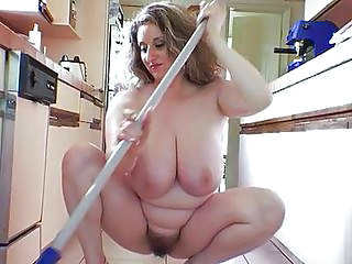 Kitchen Hairy MILF
