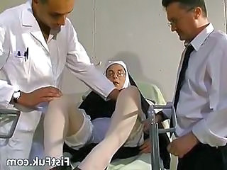 Nun Threesome Uniform Dirty Stockings