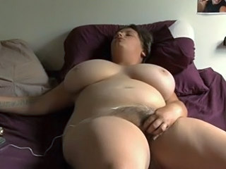 Hairy Solo Masturbating