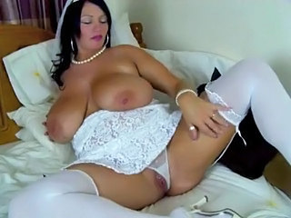 Bride Panty Stockings Bbw Milf Bbw Tits Big Tits