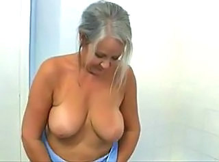 Stripper Natural Saggytits Grandma