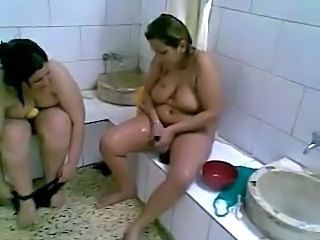 Bathroom Mature Arab Arab Arab Mature Bathroom