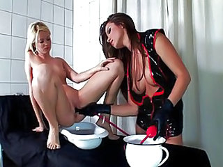 Insertion Fetish Latex Insertion Lesbian Babe