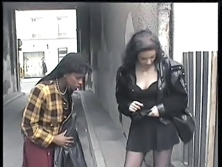 Ebony Interracial Public Public