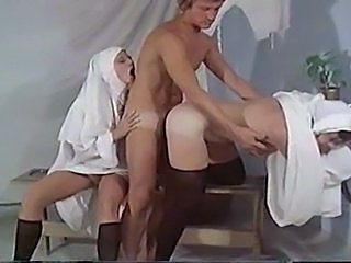Nun Doggystyle Threesome Danish Doggy Ass Threesome Hardcore
