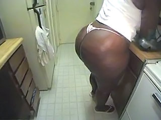Kitchen Ass BBW