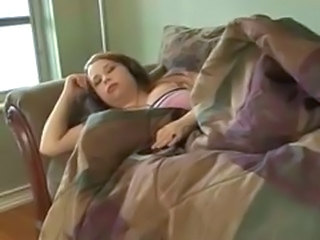 Sleeping BBW Teen