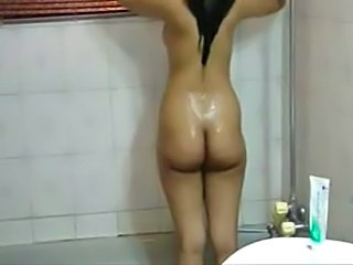Video from: empflix | Indian lady at bath