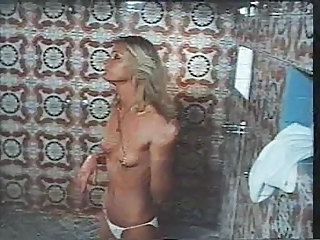 1970s Movie Hard Erection Shower Sex Scene