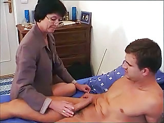 French Mom Old And Young European French French Mature