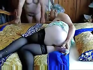 Older Toy Masturbating Amateur Grandma Grandpa