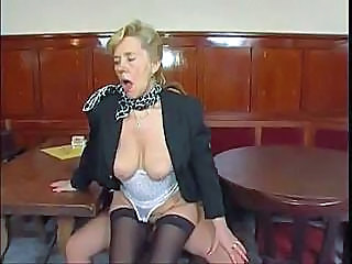 Riding Secretary Old And Young Old And Young Riding Tits Stockings