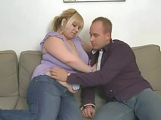 Blonde Bbw Takes It Hard From Behind