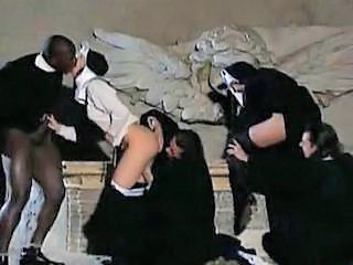 Nun Uniform Vintage Dirty Orgy
