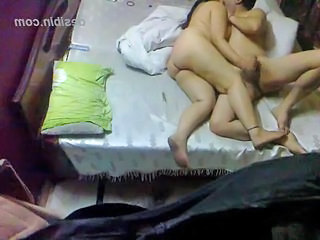Chubby Indian couple amateur home made sex clip