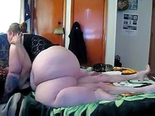 Homemade BBW Riding