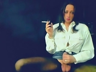 Beautiful Smokey Tgirl Strokes