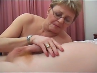 Handjob Glasses Mom Beautiful Ass Beautiful Mom Glasses Busty