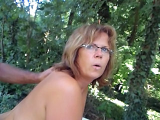 Doggystyle Outdoor Glasses Amateur Amateur Mature Doggy Ass