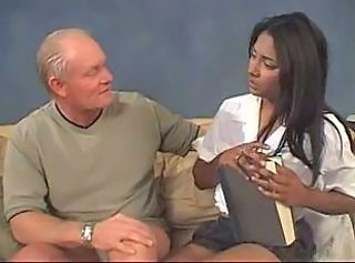 Old And Young Amazing Interracial Indian Teen Old And Young Teen Babysitter