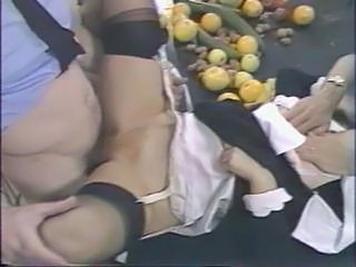 Clothed Hairy Stockings Abuse Stockings Threesome Hardcore
