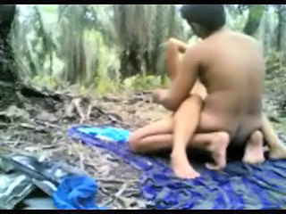indonesian Teen Fucked in the jungle  Sex Tubes