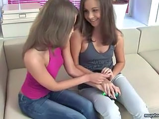 Videos from: sunporno | Cute teens in filthy lesbian anal sex