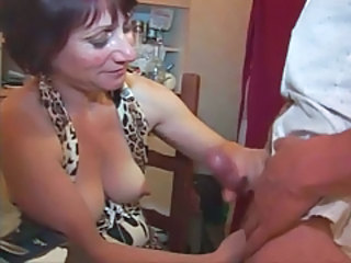 Handjob French Mature European French French Mature