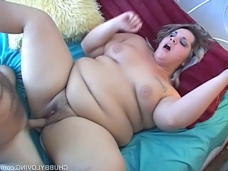 Magnificent BBWs first fuck on film