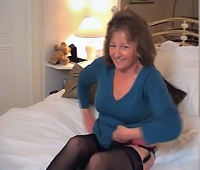 British Stripper European British European Granny Stockings