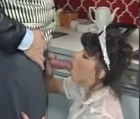 Maid Uniform Blowjob
