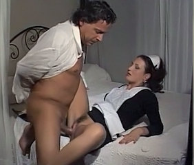 Maid Clothed Hairy European Vintage Hairy