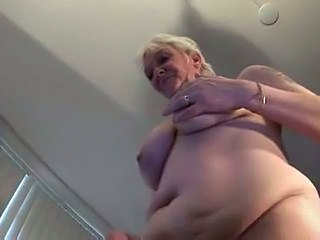 Saggytits Chubby Natural Granny Stockings Stockings