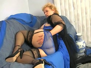 Solo Ass Panty Granny Stockings Lingerie Stockings