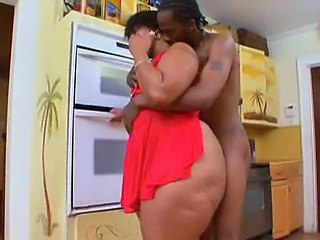 Kitchen Ebony BBW
