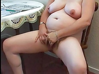 Masturbating Amateur Chubby