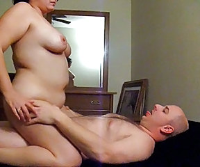 My wife enjoying her lover