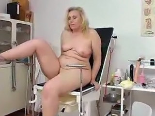 Video from: yobt1 | Blond-haired Fat aged explored by gash doctor