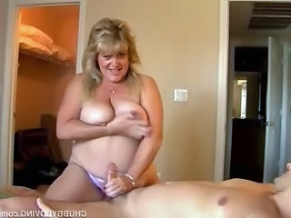 Handjob Natural MILF