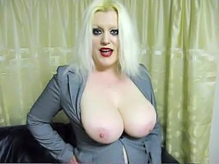 Big Tits Blonde British