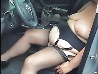 Car Stockings Amateur