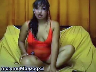 Indian Milf With Small Jugs Strips Part4