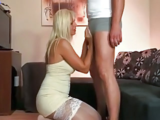 Blonde European Stockings
